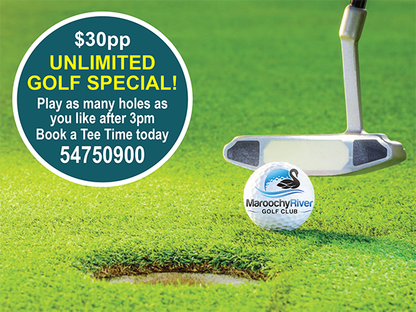 Unlimited Golf Special!