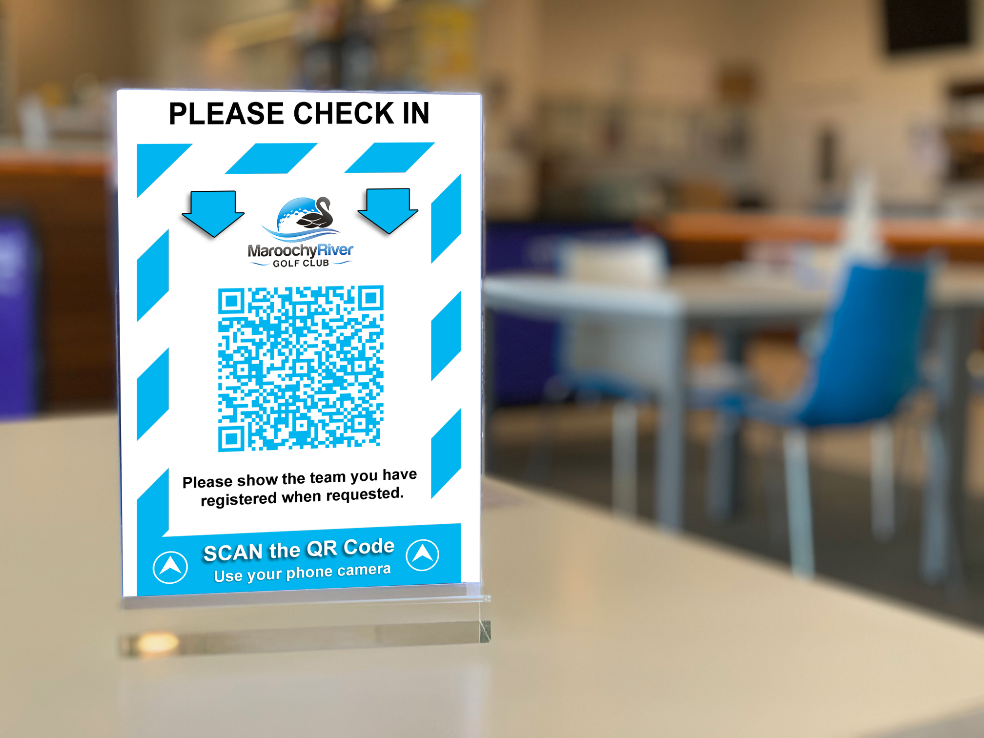 Check in and Check out with our QR CovidSafe APP