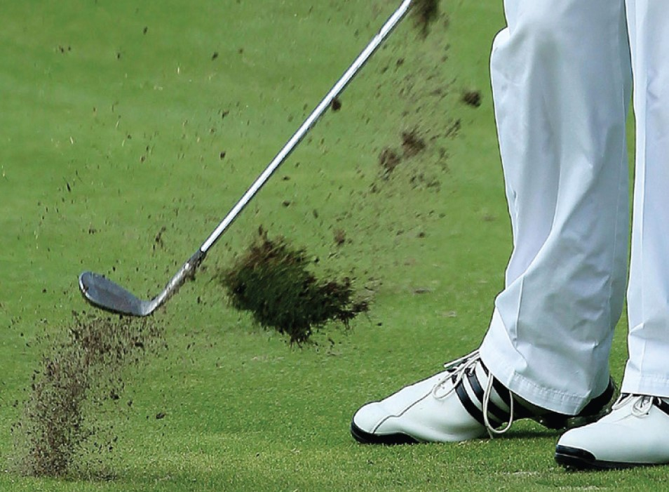 Repairing Pitch Marks & Divots