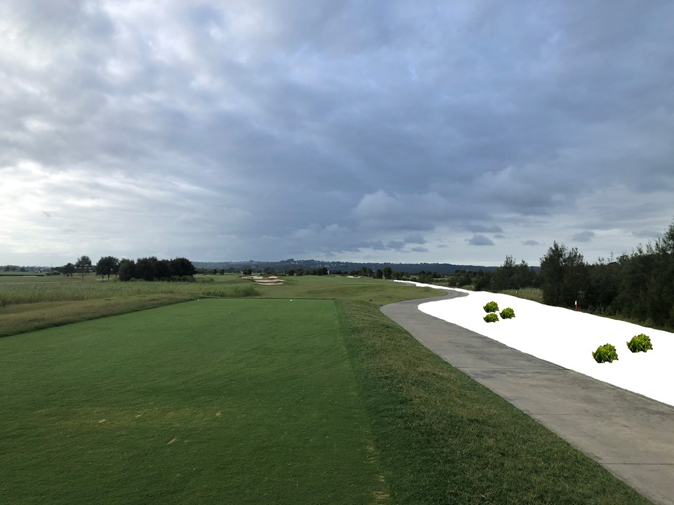 Renovations for Holes 6, 7 & 8